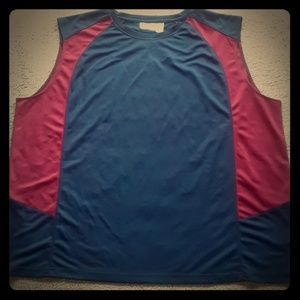 NWOT 5XL Muscle shirt Athletic Top Sleeveless Tee